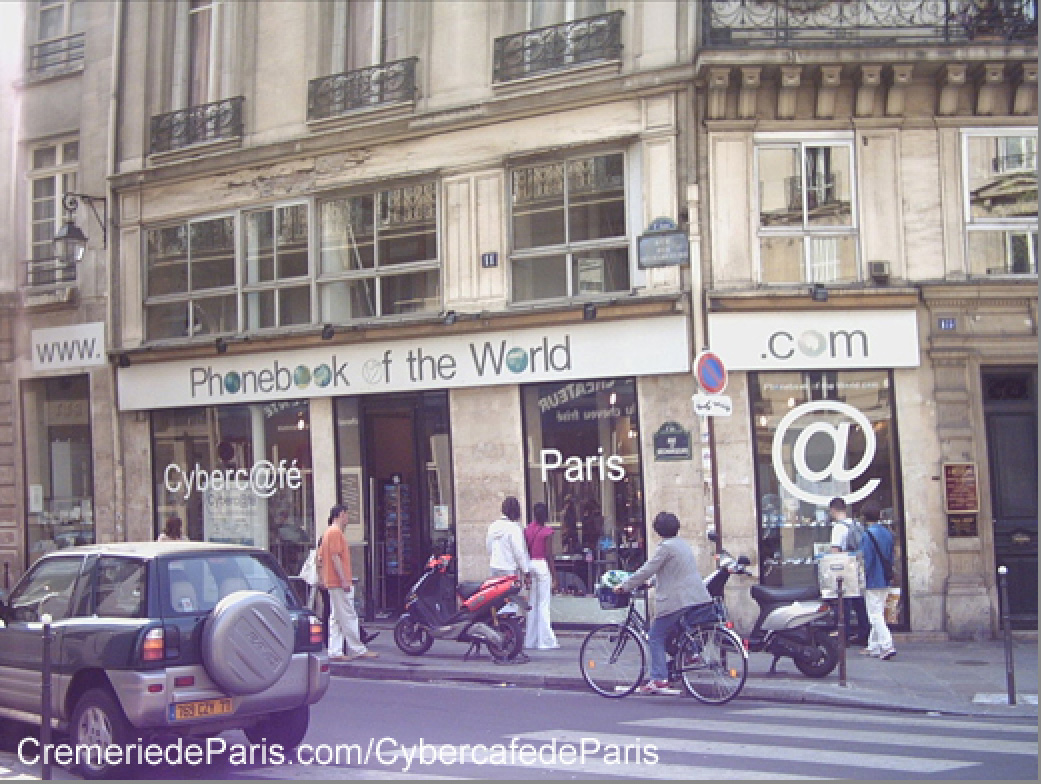 Cybercafe de Paris