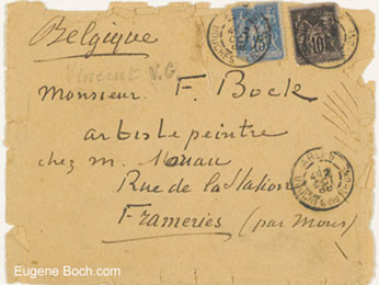 Letter from Vincent van Gogh to Eugene Boch